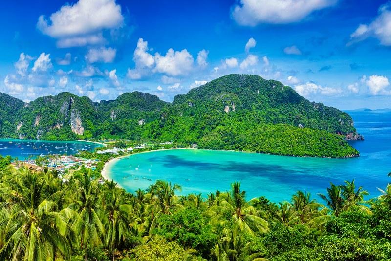 Phi Phi Leh Island near Phuket, Thailand