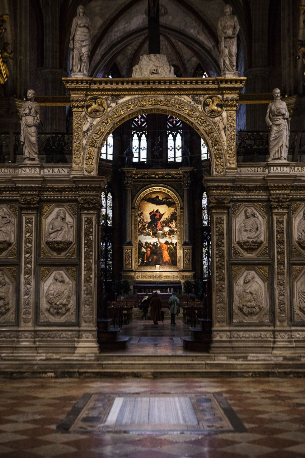 Titian's radiant Frari altarpiece