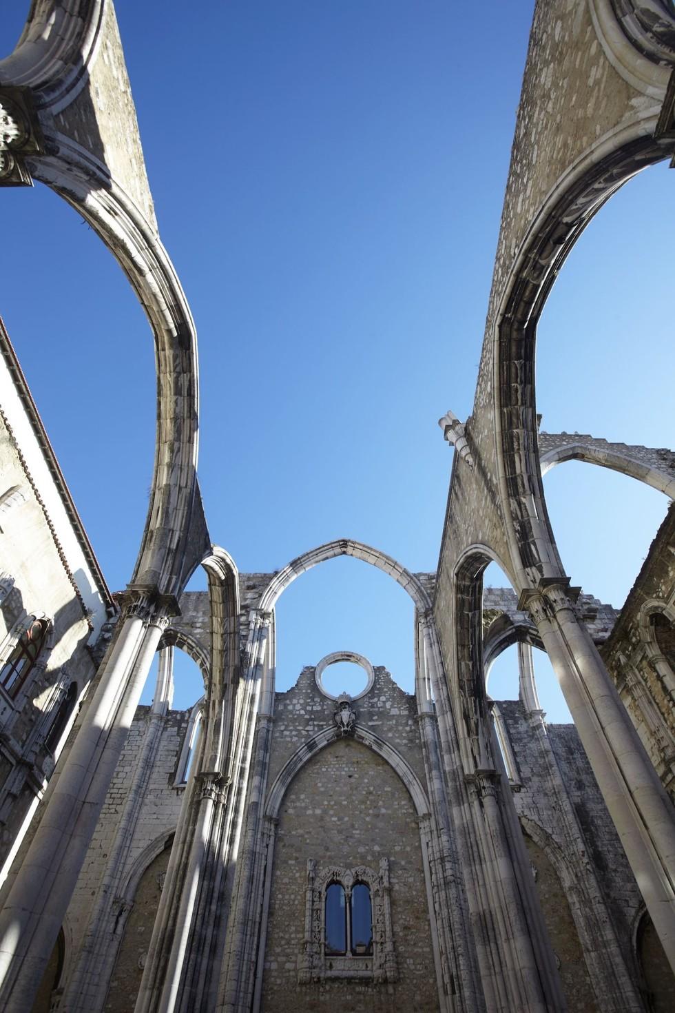 The ruins of the Convento da Ordem do Carmo