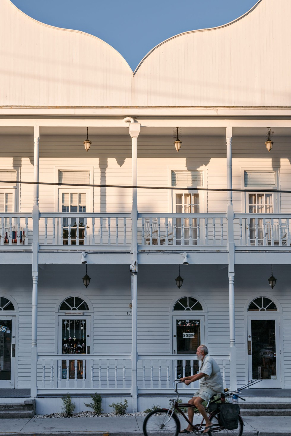 Colonial architecture on Key West's Duval Street