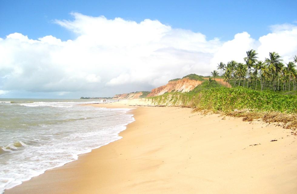 Brazil's Atlantic Coastline, including the beach