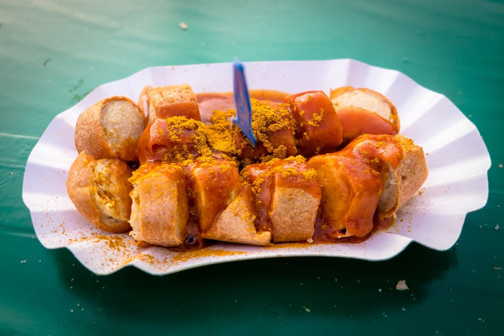 Currywurst in Germany