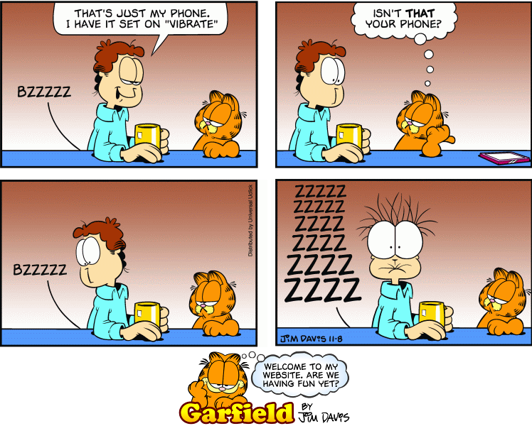 Can We Just Talk About This Garfield Comic For A Second