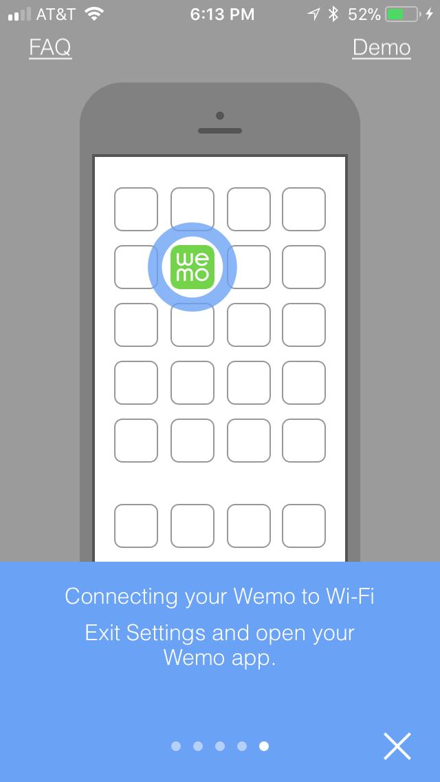 Open Wemo app on Your Smartphone