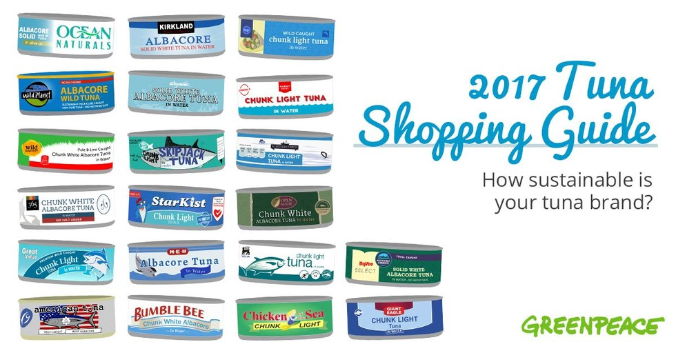 20 canned tuna brands ranked how sustainable is your brand for Tuna fish brands