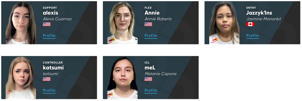 Cloud9's all-women esports team, Cloud9 White