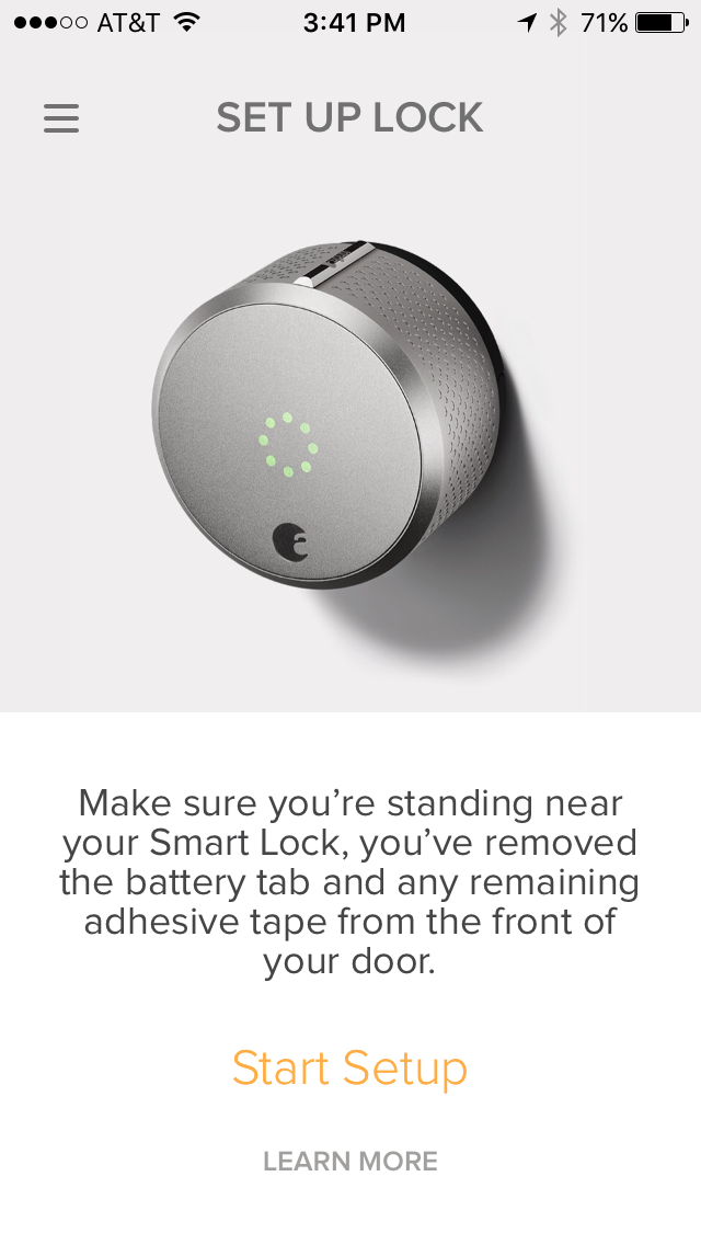 Setup Your Smart Lock