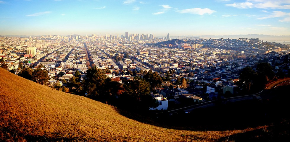 Bernall Hill in San Francisco
