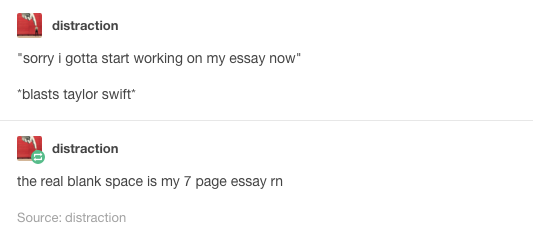 how to write an essay tumblr