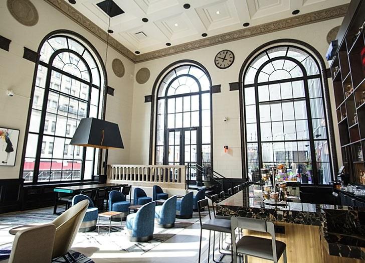 The Aloft Hotel in Philadelphia, Pennsylvania