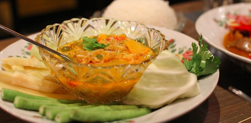 Typical cuisine in Bangkok