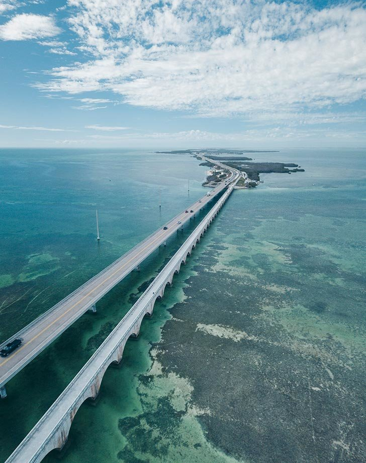Overseas Highway in Florida