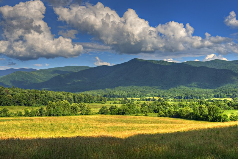 Great Smoky Mountains National Park in Tennessee and North Carolina
