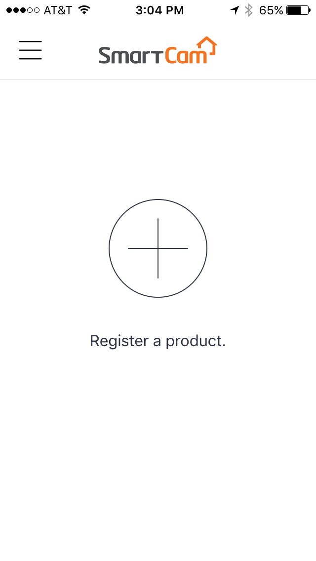After Selecting Product To Register, follow Prompts in Mobile App.