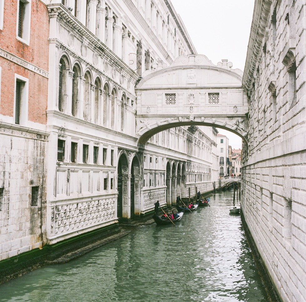 Morning at the Bridge of Sighs