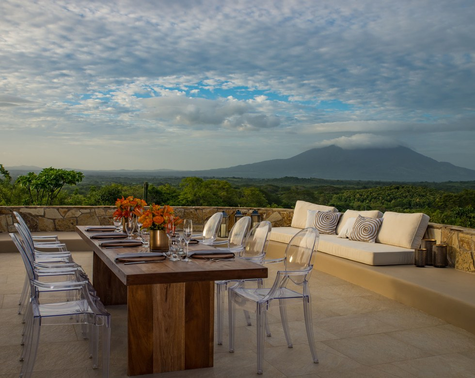 The view from the Nekupe Sporting Resort & Retreat in Nicaragua