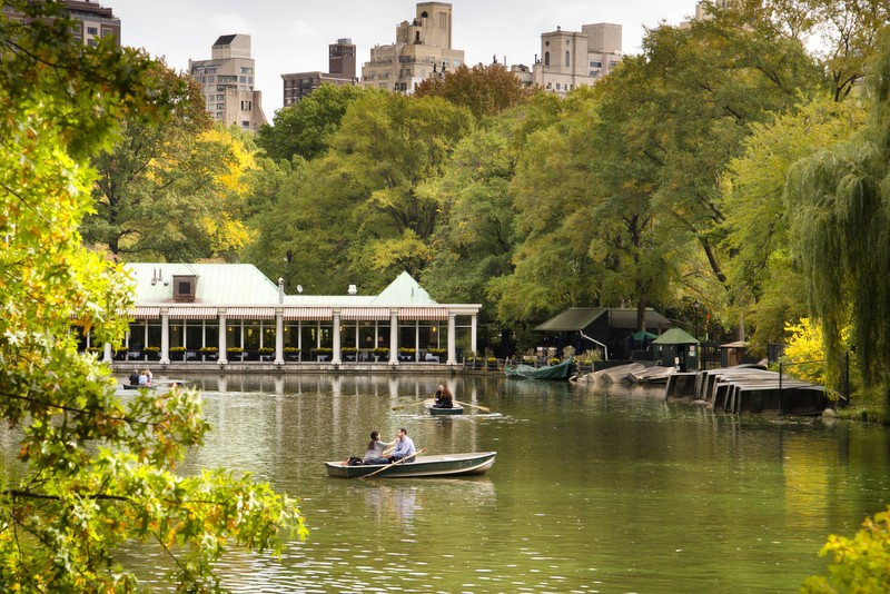 Loeb Boathouse in Central Park, New York