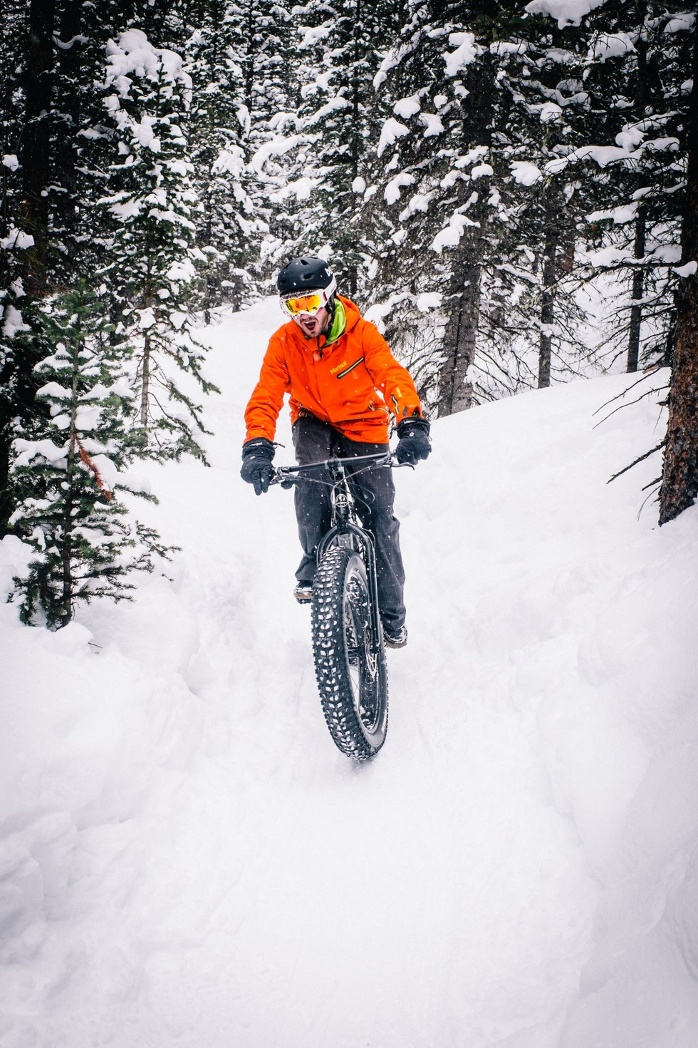 A fat bike tour with Breck Bike Guides