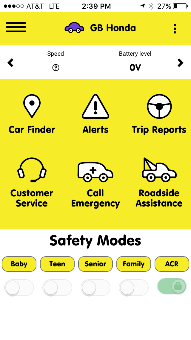 Home Screen on Autobrain Mobile App