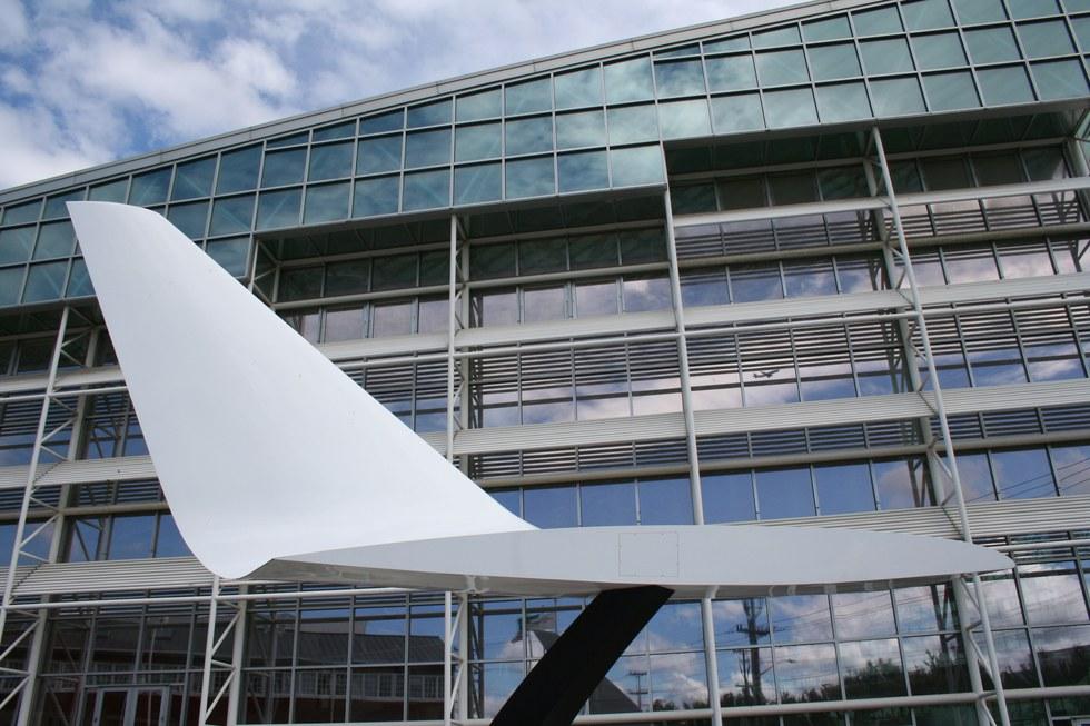 Museum of flight in Seattle.