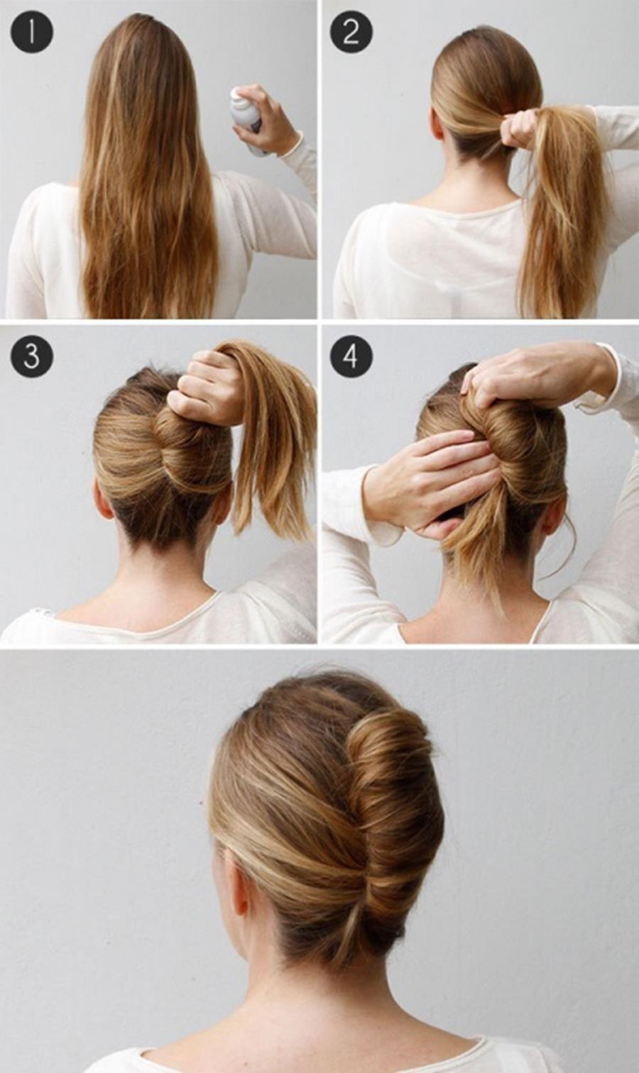 Die 14 Besten Frisuren Hacks Bei Langen Haaren Und Wenig Zeit