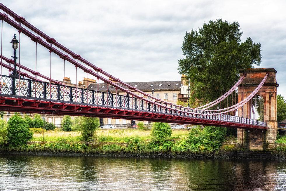 South Portland Street Bridge in Glasgow