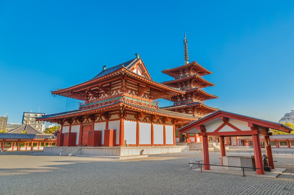 Yakushi-ji, one of the Seven Great Temples in Nara