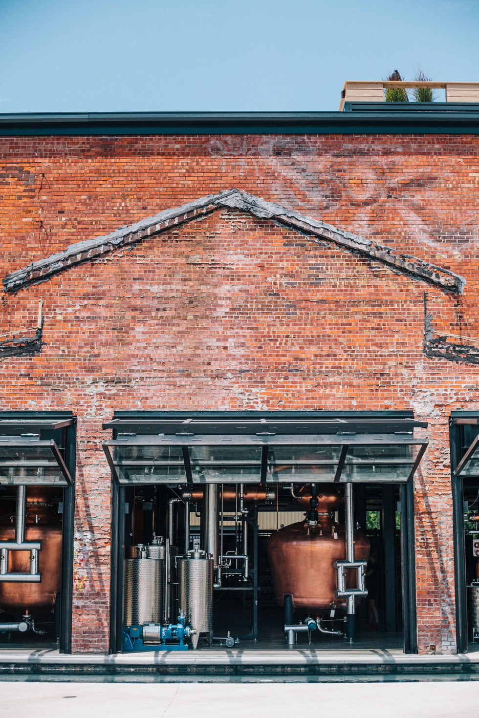 A convergence of the old and the new at the Copper & Kings distillery