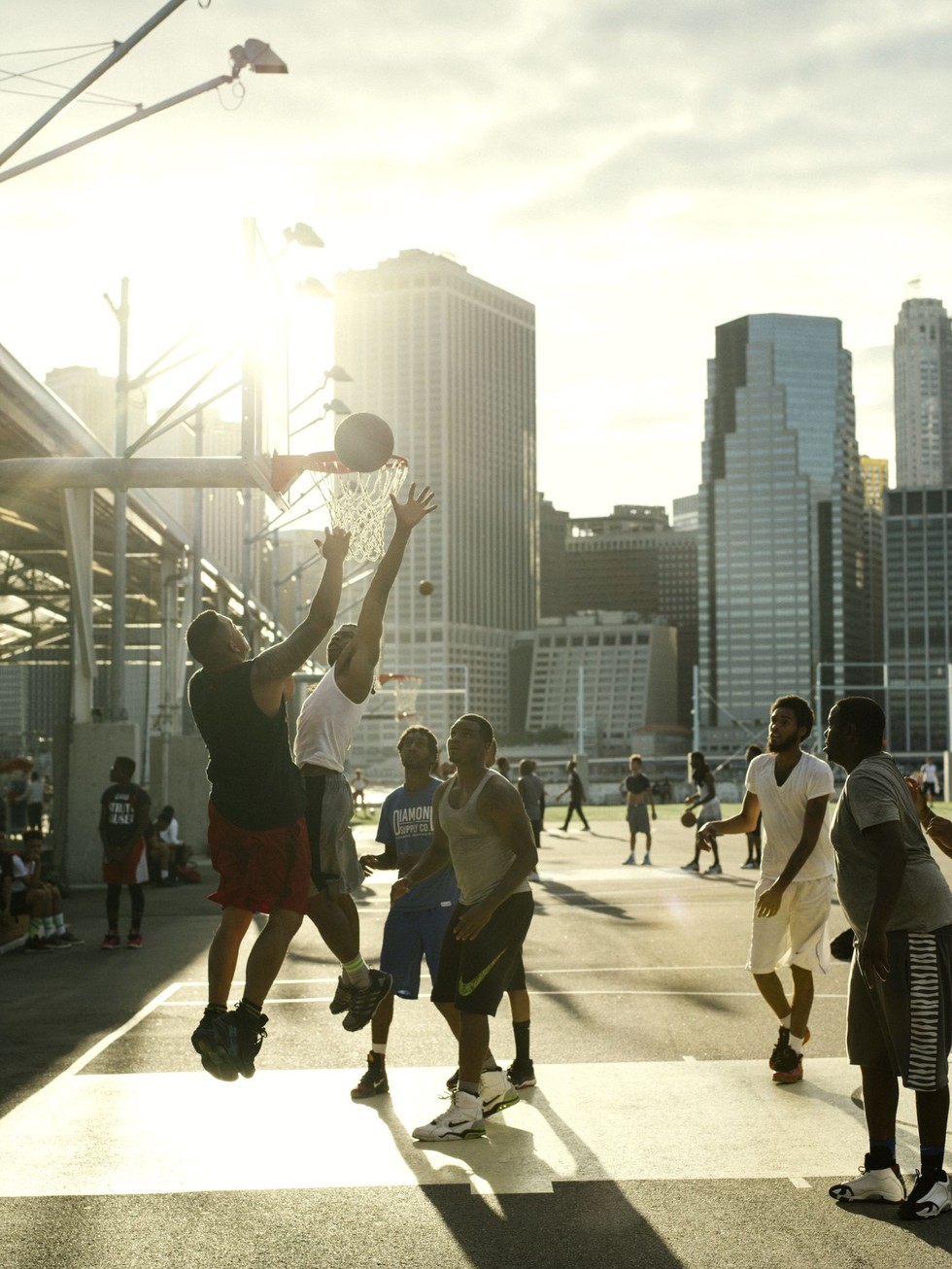 West 4th Street basketball courts, New York