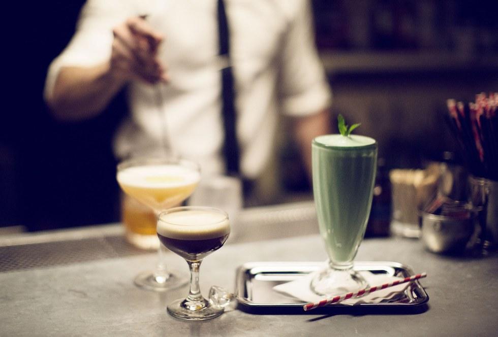 Cocktails at P\u00e9p\u00e9 le Moko