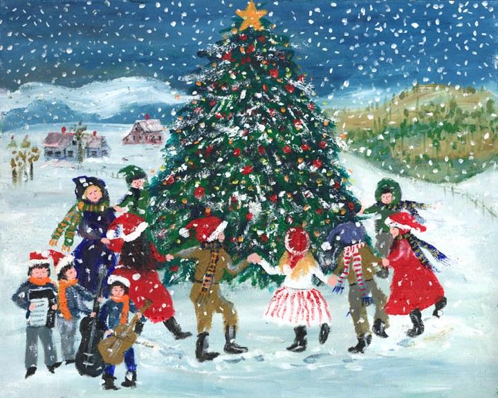 Christmas Songs Rockin Around The Christmas Tree Lyrics