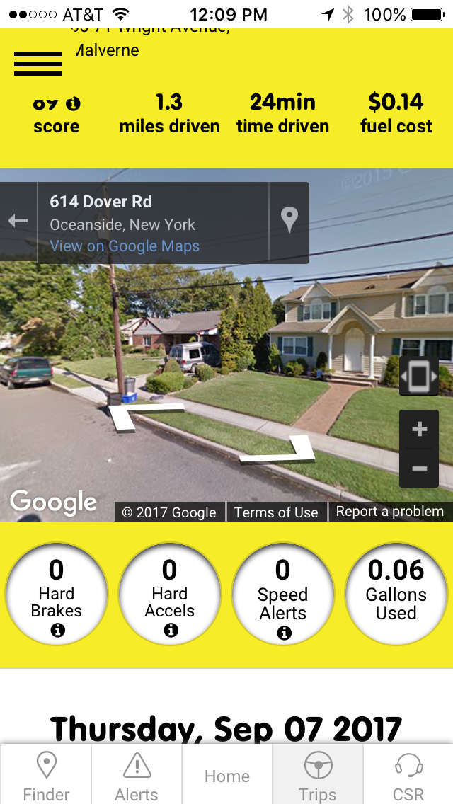 Autobrain uses Google Maps for their mapping features.