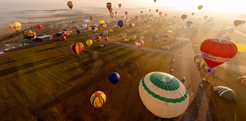 Mondial Air Ballons in France