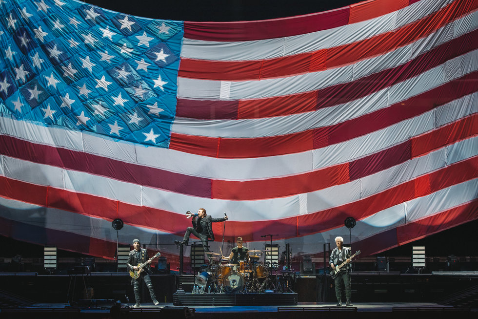 U2 Rocks San Jose With Pride For Social Justice And The American Dream