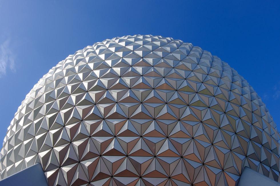 Epcot Center in Disneyworld in Orlando, Florida