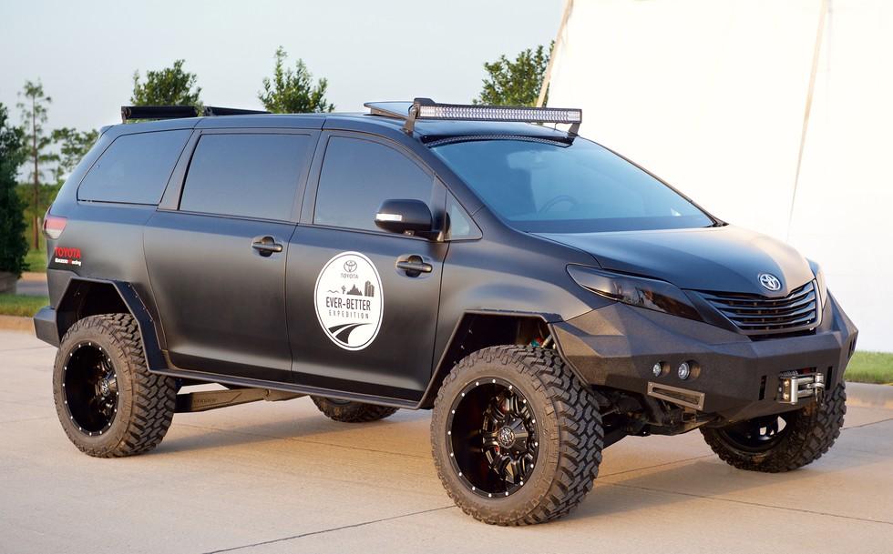 Toyota Sienna UUV Is Worlds First Cool Minivan