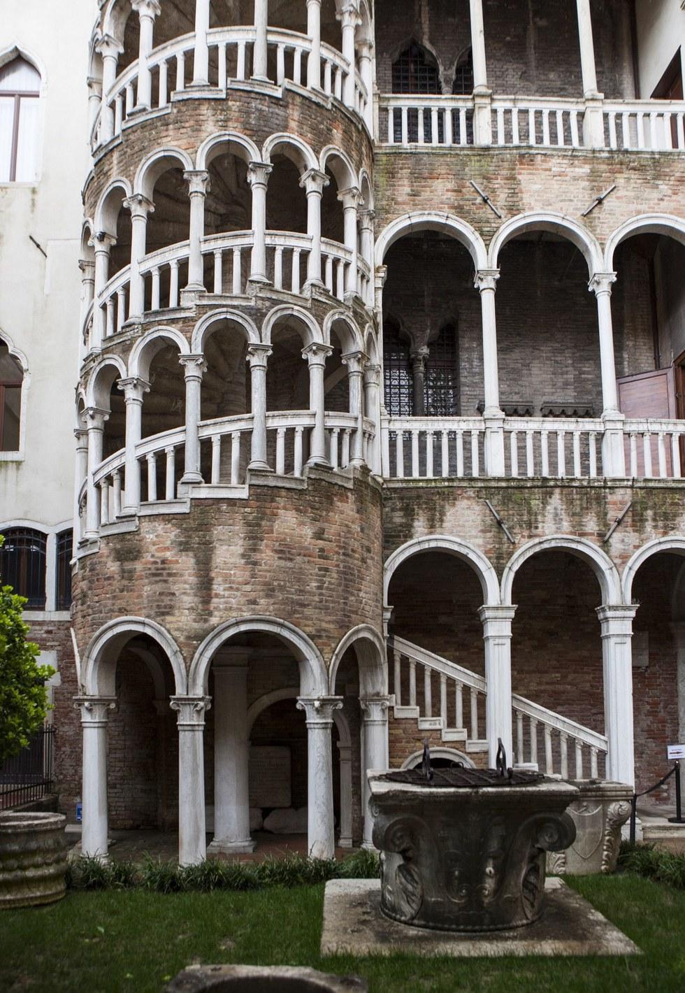 Palazzo Bovolo's external staircase