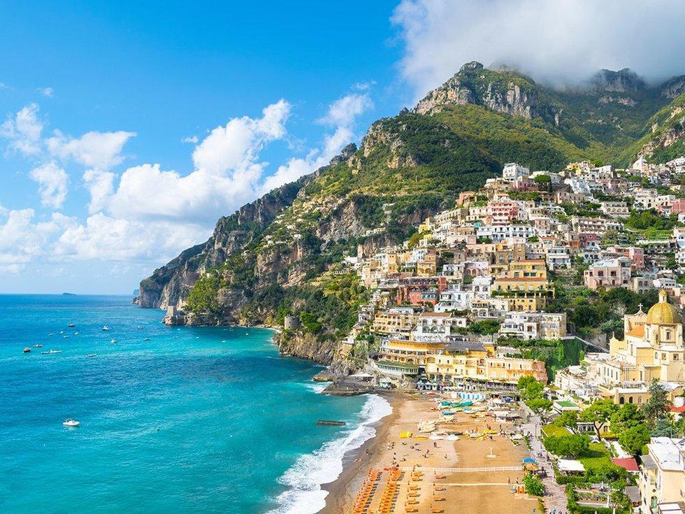 Spiaggia Grande, Positano, Italy