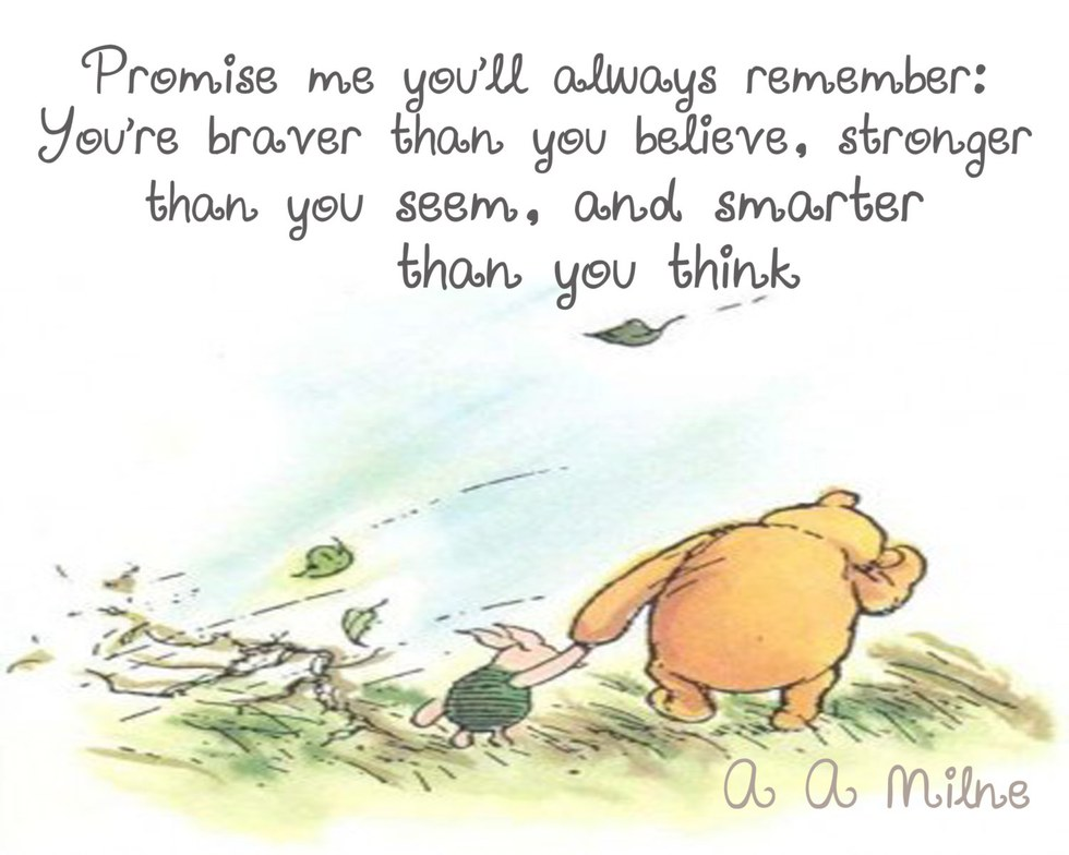 "Winnie The Pooh Quotes: ""Winnie The Pooh"" Quotes To Live By"
