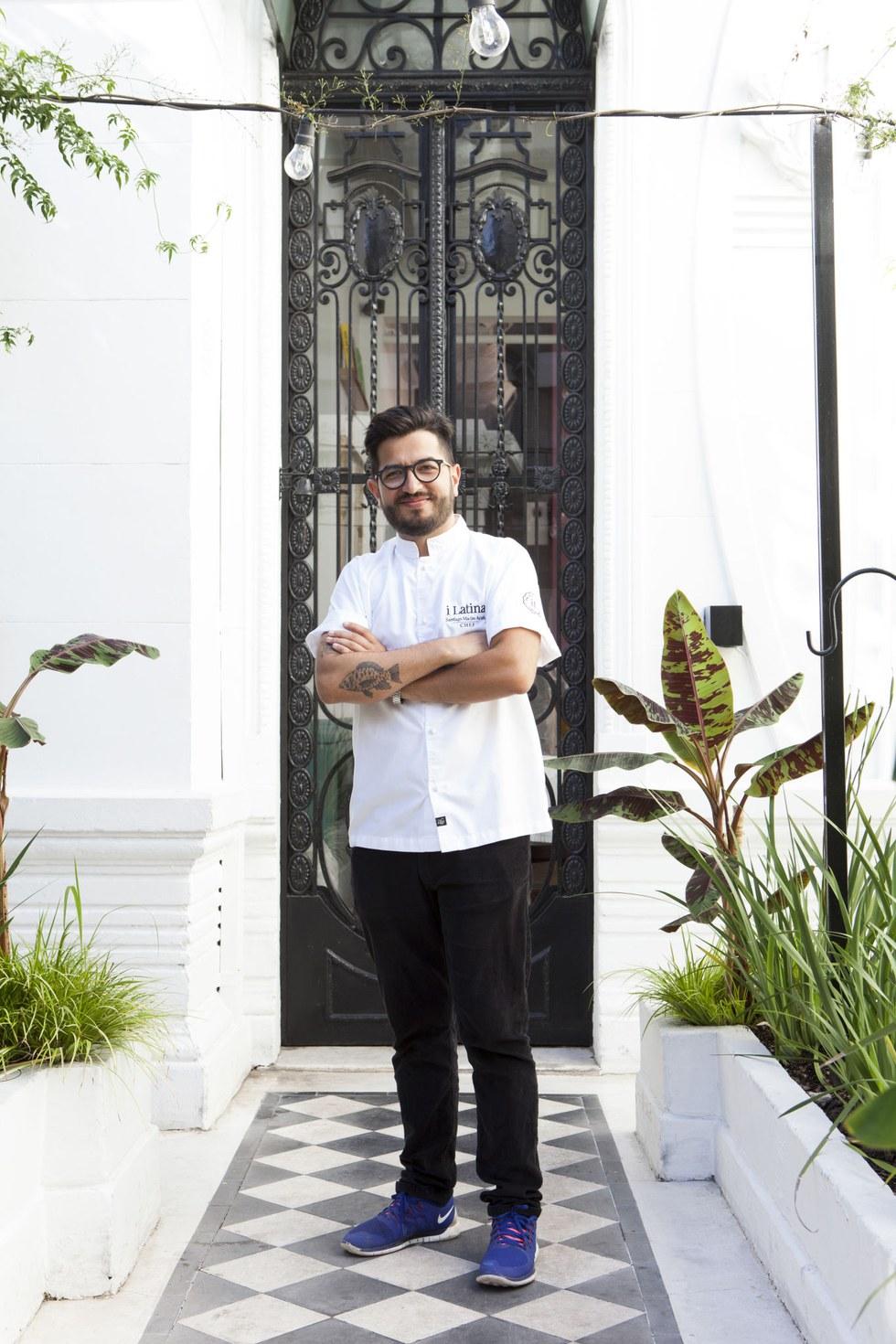 Santiago Macias, chef, I Latina