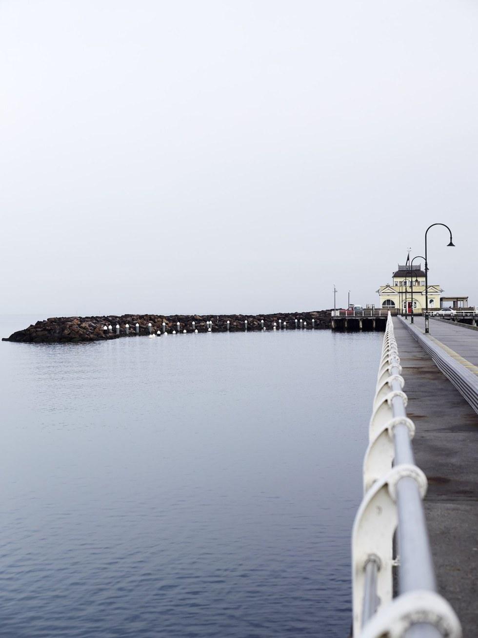 St. Kilda Pier, with its famed Pavilion