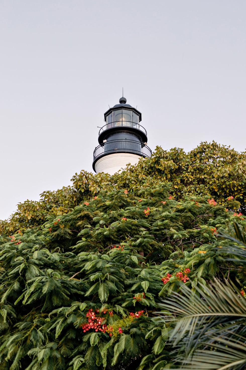 The Key West lighthouse