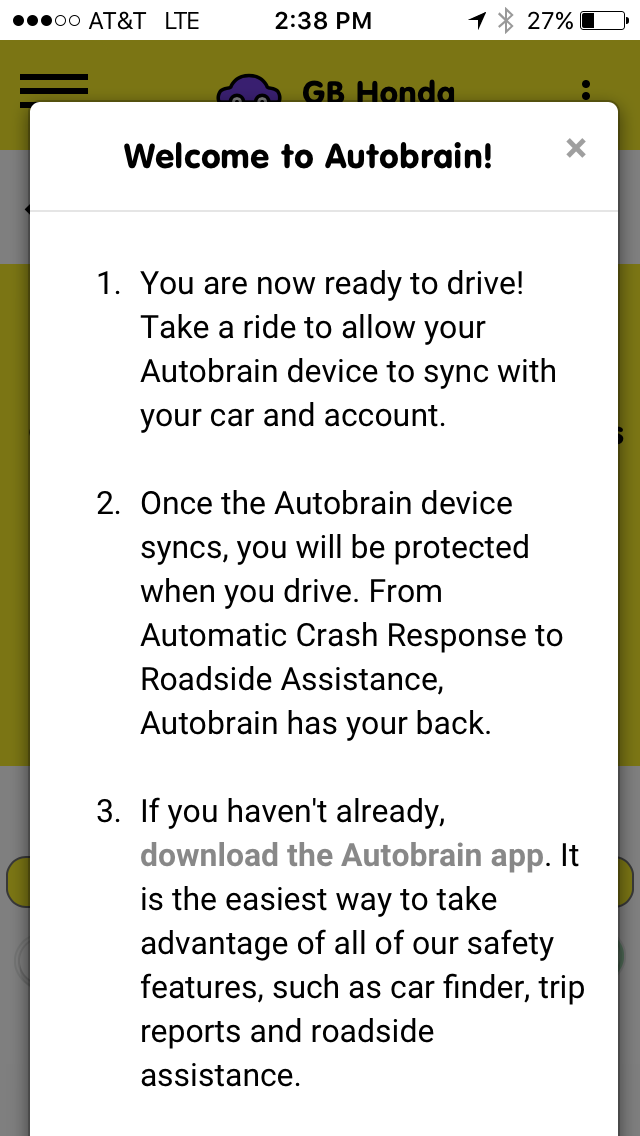 Welcome to Autobrain Screen - Good Instructions