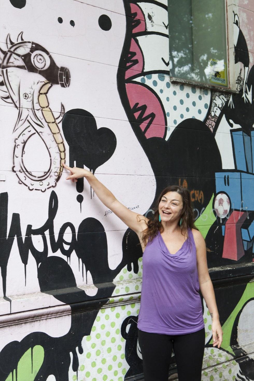 Myriam Selhi, guide, Graffitimundo