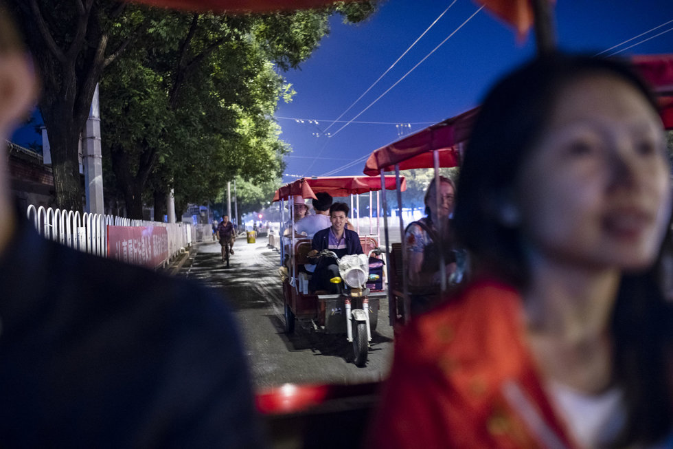 Sampling Beijing's culinary delights by tuk-tuk on a Lost Plate tour