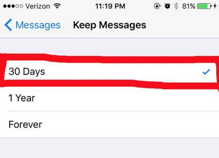 how to delete all local messages storage