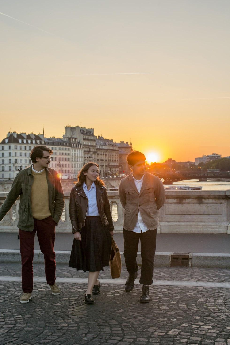 Parisians on \u00cele Saint-Louis
