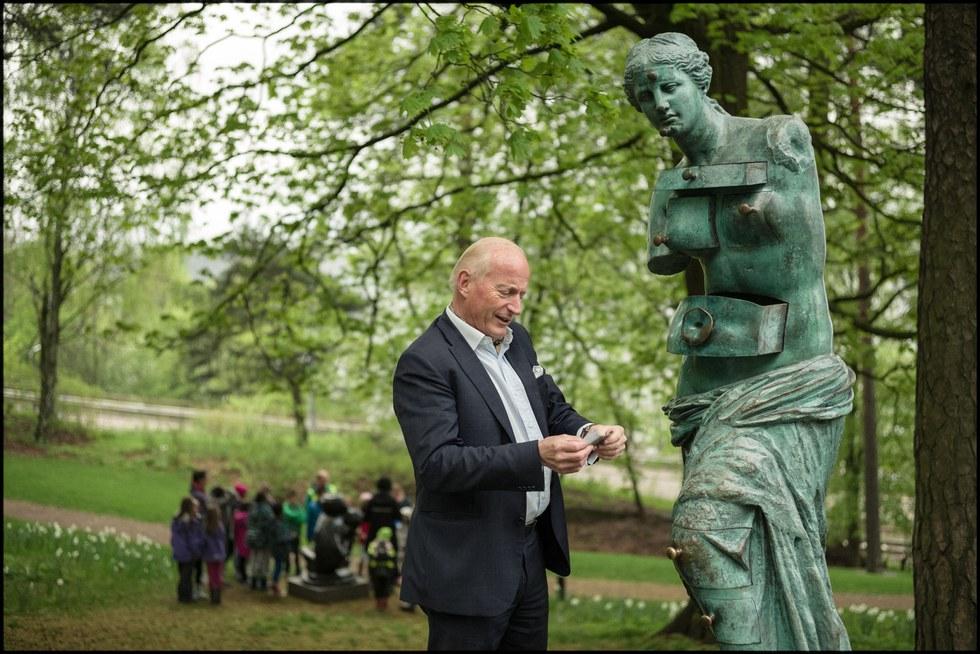 Christian Ringnes, Businessman and founder, Ekeberg Sculpture Park