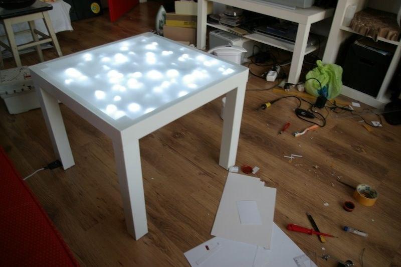 Mit Diesen Originellen Wohnideen Wertest Du Deinen Tisch Von Ikea