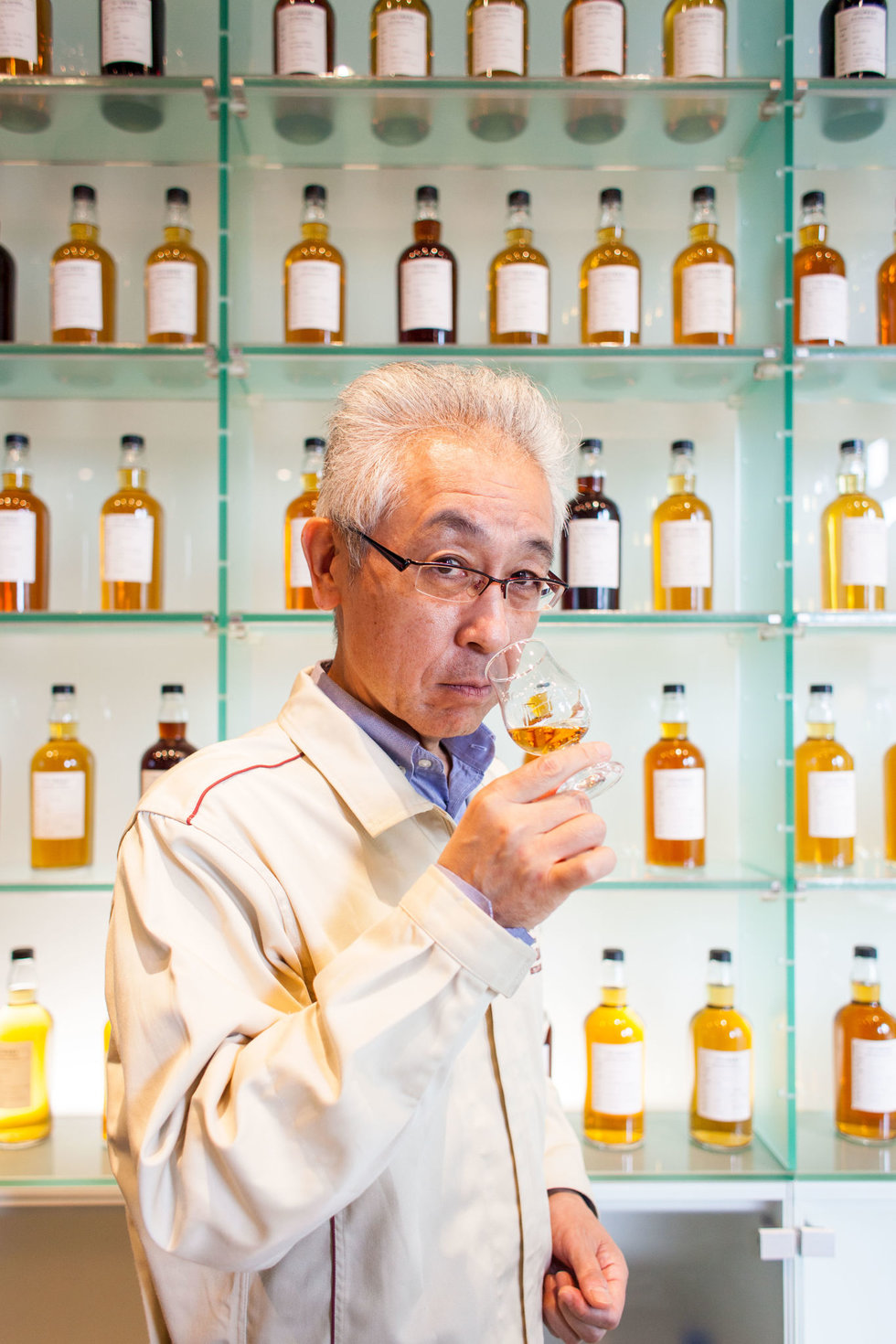 Suntory Chief blender Shinji Fukuyo